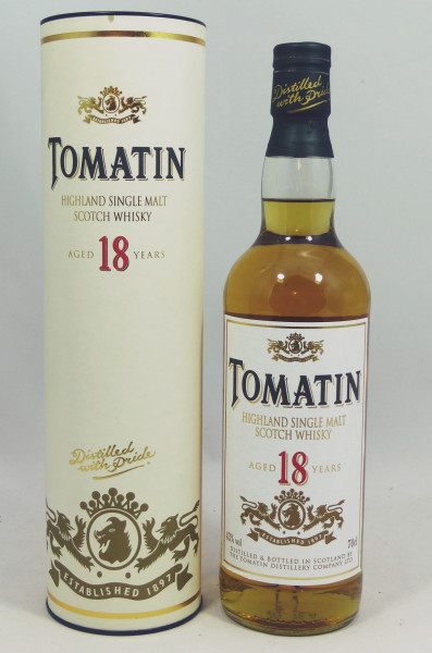 Tomatin 18 Years - old Style