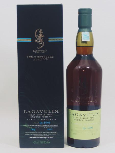 Lagavulin Distillers Edition 1999 b. 2015 Doubel Matured