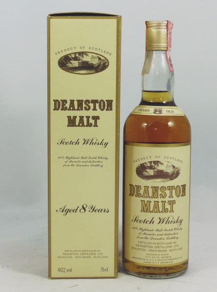 Deanston over 8 years old 80's Bottling Angelini Import