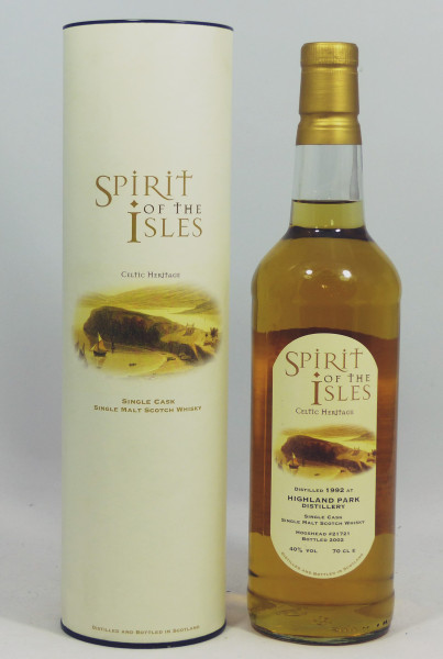 Highland Park 1992 Spirit of The Isles - Single Cask 21721