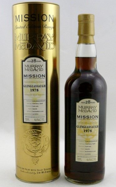 Glenglassaugh 28 Jahre 1978 Murray McDavid Mission Gold