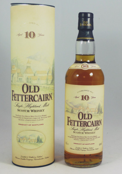 Old Fettercairn 10 Jahre - old Style