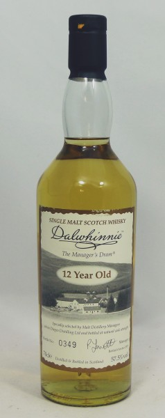 Dalwhinnie The Manager's Dram 12 Jahre b. 2009
