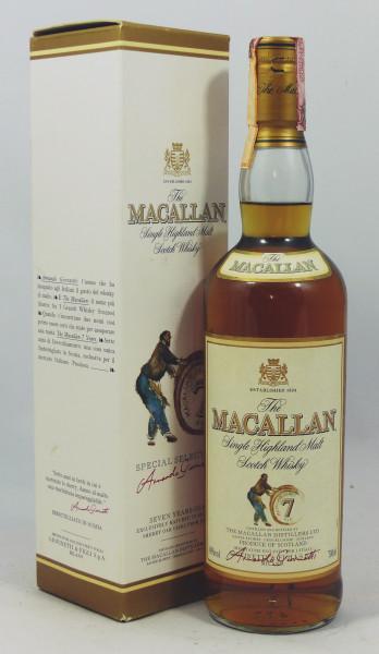 Macallan 7 Years - Giovinetti & Figli Import