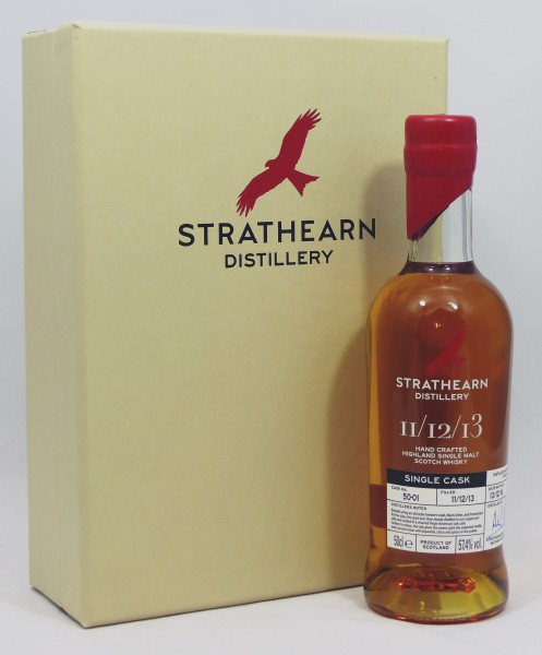 Strathearn Inaugural Single Cask Bottling #50-01