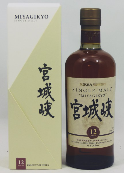 Miyagikyo 12 years Nikka Whisky