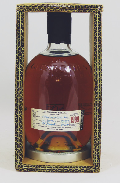 Glenrothes Vintage 1989 bottled in 2003