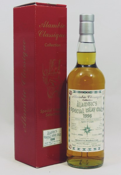 Special Islay Malt 1996, b. 2013 Alambic Classique Single #13301