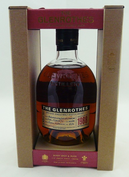 Glenrothes Vintage 1988 bottled in 2016 Second Edition