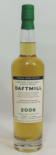 Daftmill 11 Jahre 2006 Summer Batch Release