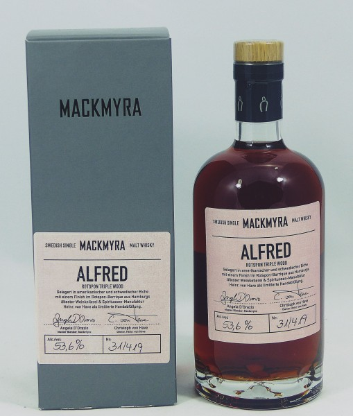 Mackmyra Preludium ALFRED Rotspon Triple Wood