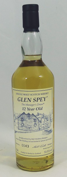 Glen Spey 12 Year old - The Manager's Dram