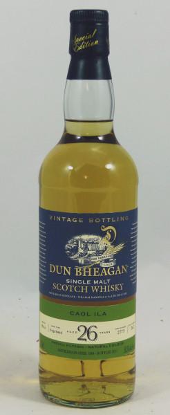 Caol Ila 26 years 1984 Dun Bheagan Single Cask #2770