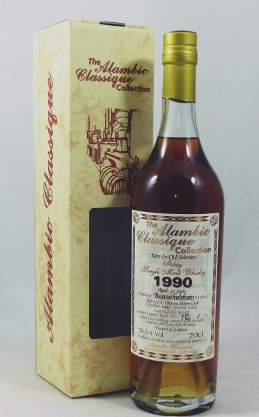 Bunnahabhain 30 Jahre 1990 Alambic Classique - Oloroso Sherry Cask 58,6%