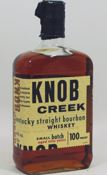 Knob Creek Kentucky Straight Bourbon Small Batch 9 Years old