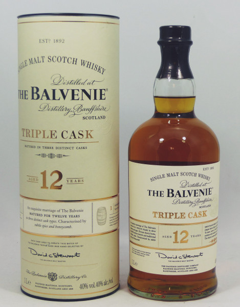 Balvenie 12 Years Triple Cask 1 Liter