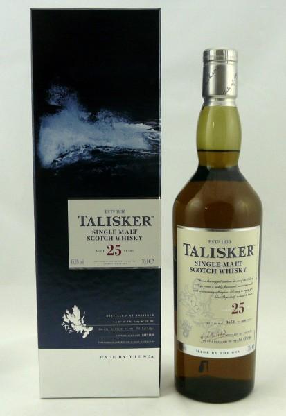 Talisker 25 Years Release 2014
