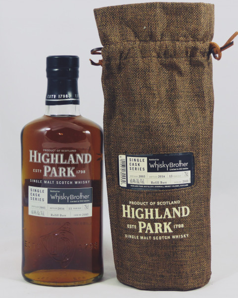 Highland Park 13 years 2003 Single Cask 2103 for Whisky Brother South Africa