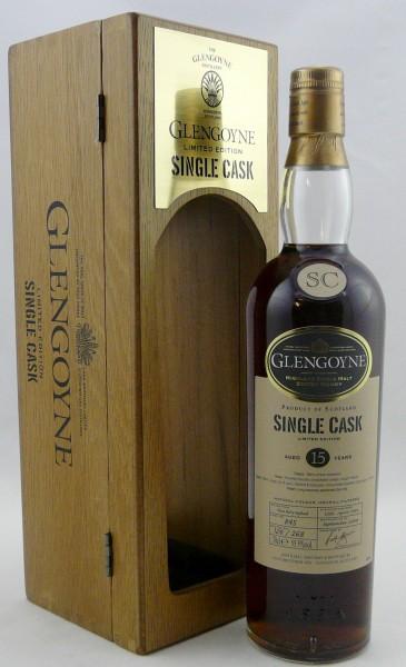 Glengoyne 15 years 1993 Cask 845 Oloroso Sherry