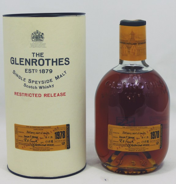 Glenrothes 1978 b. 1999 Restricted Release