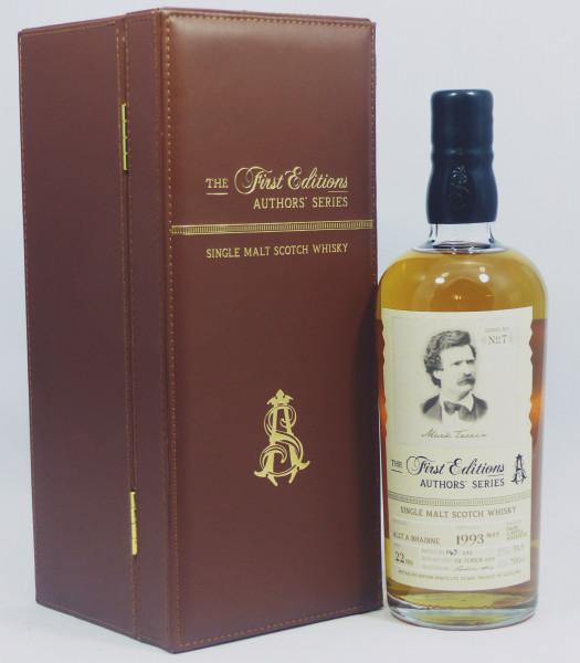 Allt-A-Bhainne 22 Jahre 1993 - The First Editions - Authors' Series #7 Mark Twain