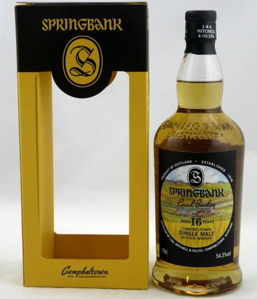 Springbank 16 Years Local Barley