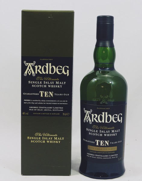 Ardbeg TEN 10 Jahre L8.. 2008 Bottling 1 Liter