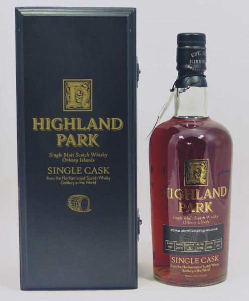 Highland Park Vintage 1989 Single Cask 4386