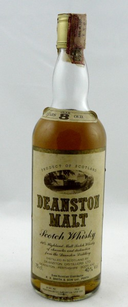 Deanston over 8 years old, Old Style 80ies Bottling