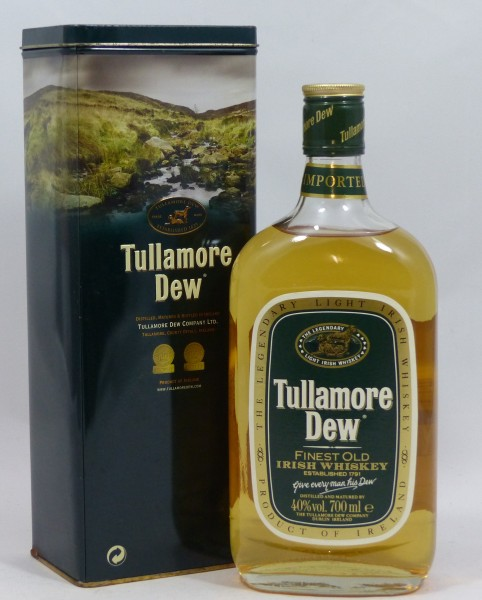 Tullamore Dew Finest Old Irish Whiskey ältere Abfüllung