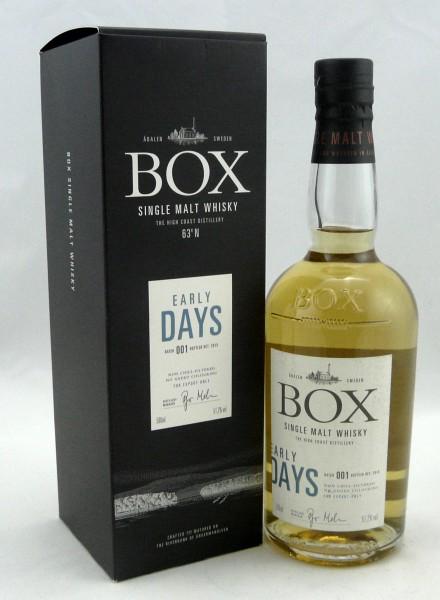 Box Whisky Early Days Batch 001