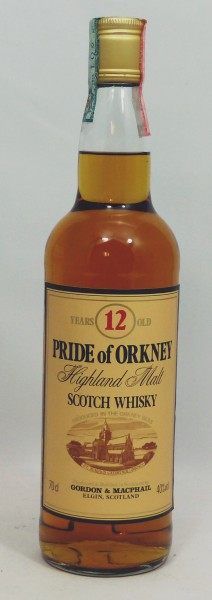 Pride of Orkney 12 years G&M