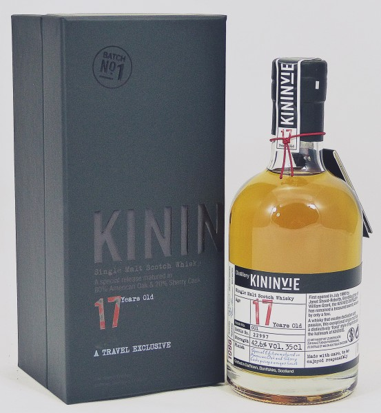 Kininvie 1996 17 Years Batch No. 001