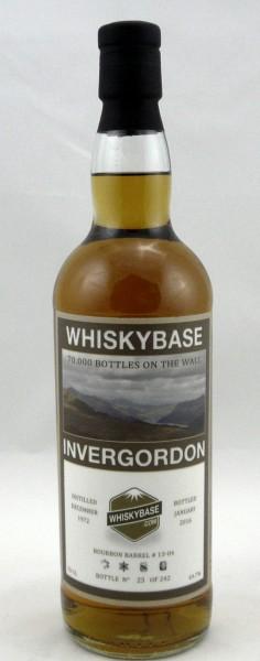 Invergordon 1972, b. 2016 Whiskybase