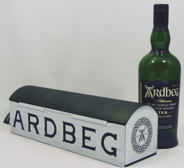 Ardbeg TEN Warehouse in wertiger Metallbox