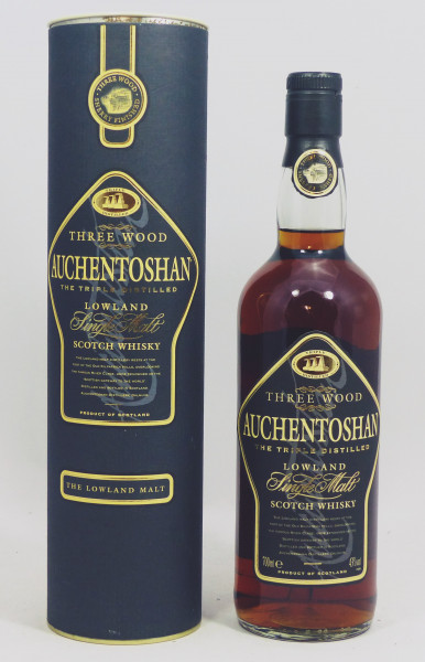 Auchentoshan Three Wood old Label