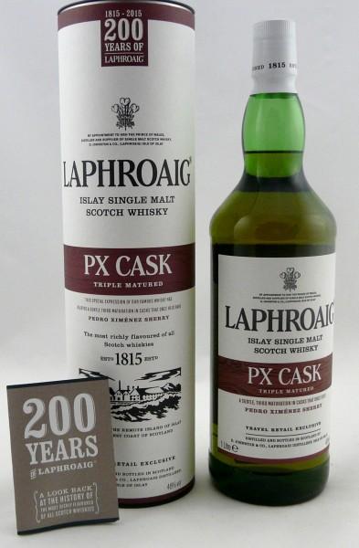 Laphroaig PX Cask 200 years of Lahroaig