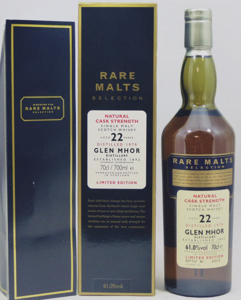 Glen Mhor 22 Jahre 1979 Rare Malts Selection