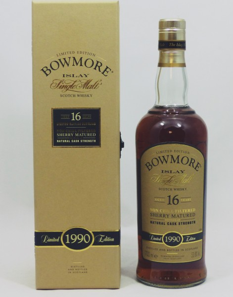 Bowmore 16 Years 1990 Sherry Matured Limited Edition
