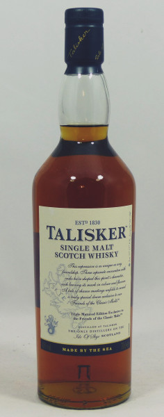 Talisker Triple matured 2013 for The Friends of The Classic Malts