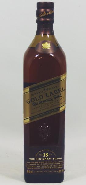 Johnnie Walker Gold Label 18 years Centenary Blend