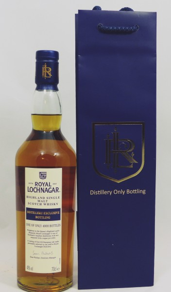 Royal Lochnagar Distillery Exclusive Bottling 2017