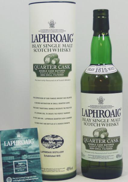 Laphroaig Quarter Cask - old Style 2008