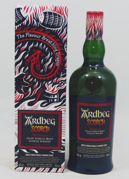 Ardbeg Scorch Limited Edition - Fiercely Charred Casks