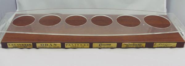 Bardisplay Barständer für die Classic Malts Whisky's - Li Puma Design P.A.I.M.