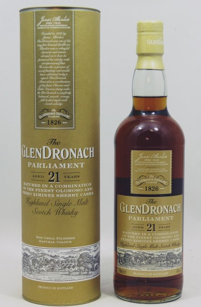 Glendronach 21 Jahre Parliament b. 2017