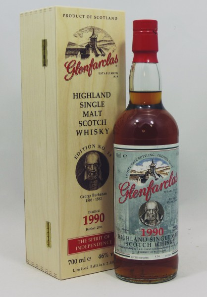 Glenfarclas 1990 Edition No. 19 George Buchanan