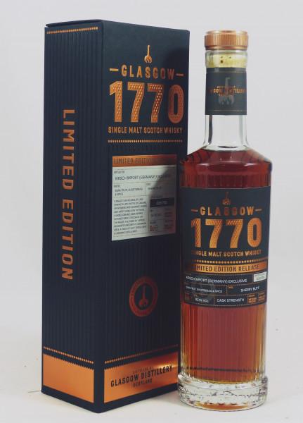 Glasgow Distillery 1770 - 2015 b. 2020 Sherry Butt #174 for Kirsch Import