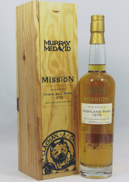 Highland Park 23 years 1979 MM Mission Selection No. One / Woodenbox