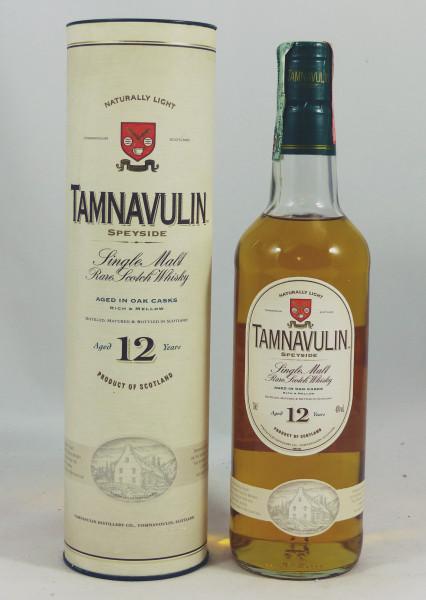Tamnavulin 12 Jahre Naturally Light - old Style